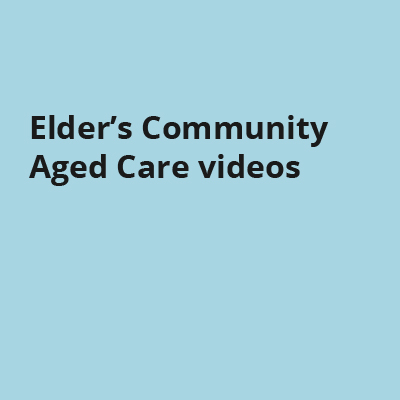 Elder's Community Aged Care videos