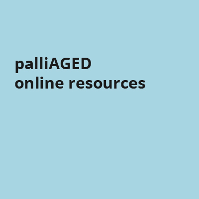 palliAGED online resources